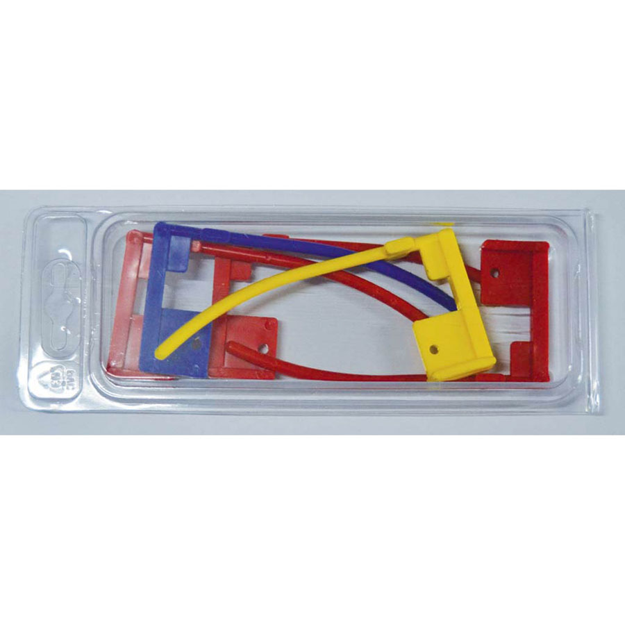 Box 5pcs universal safety flags for all calibers